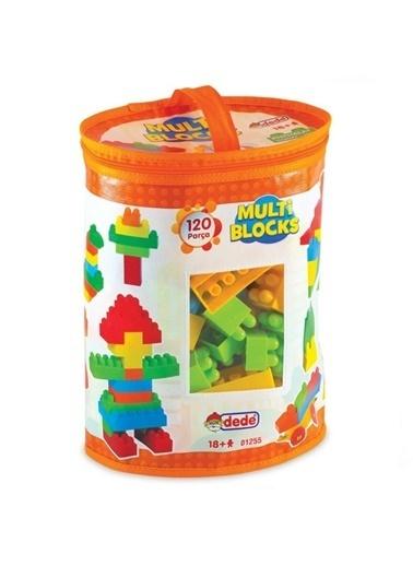 Dede Lego Puzzle Multi Bloklar 120 Parça Orijinal Ürün Renkli